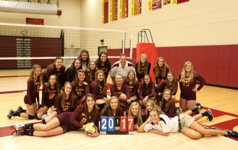 Volleyball prepares for district play