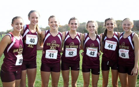 Cross Country girls make history