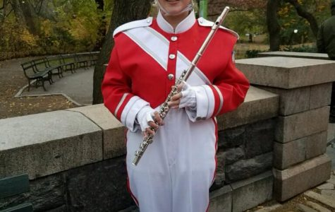 Student performs in Macy's Day Parade