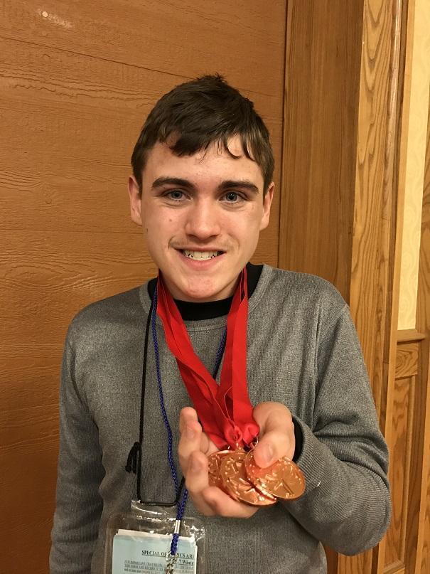Special Olympian Thorson named most improved