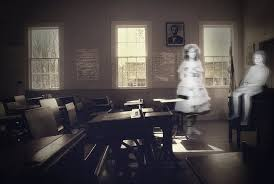 """School catches """"ghost"""" on camera."""