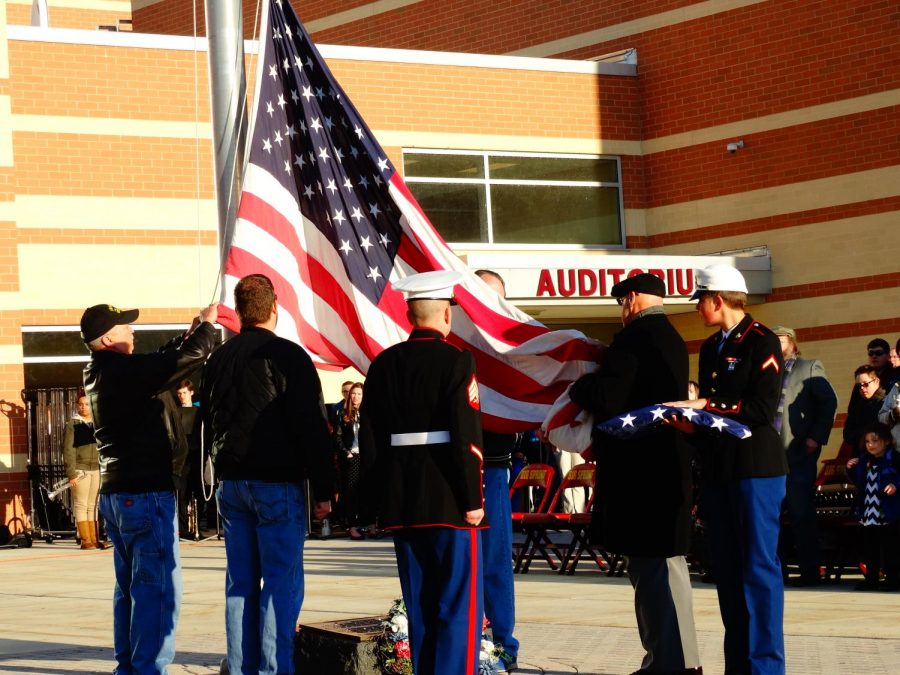 Tempus club host Veterans day ceremony in 2015. This years ceremony is November 10th 2017.