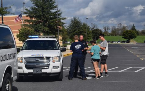 Traffic stop simulation engages students