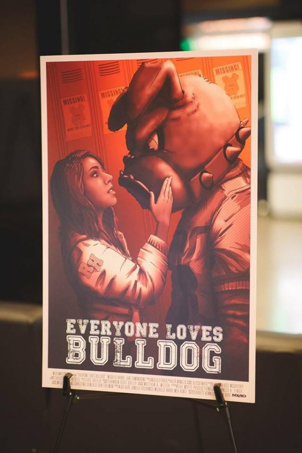 The+movie+poster+for+the+short+film+%22Everyone+Loves+Bulldog%22+