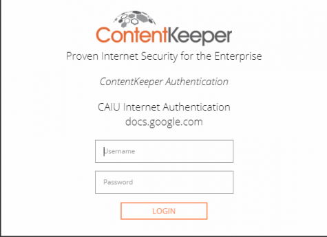 ContentKeeper prevents students from completing work