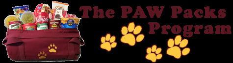 Money raised for Paw Packs