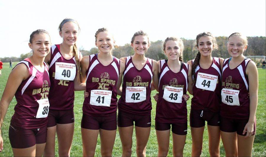 Cross Country girls make history