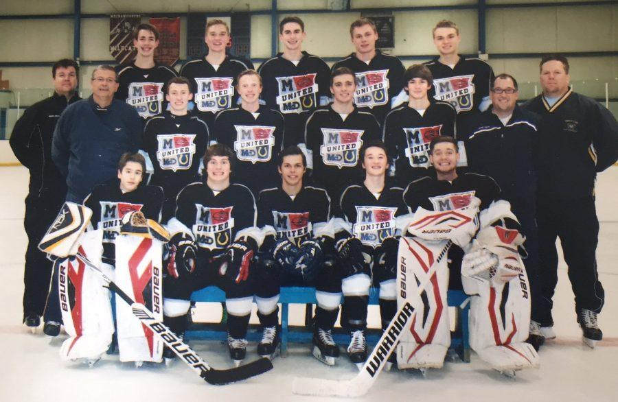 Junior travels long distance to play ice hockey