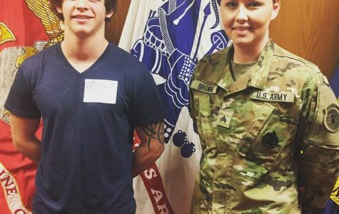 Enlisted senior sets his heart on the Army