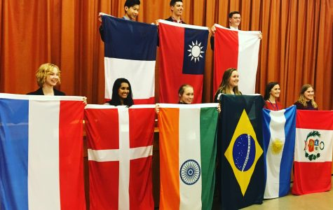 Sophomore's studies take her abroad