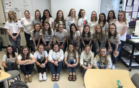 Girls step up to presidential plate