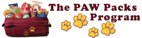 Money raised for Paw Packs